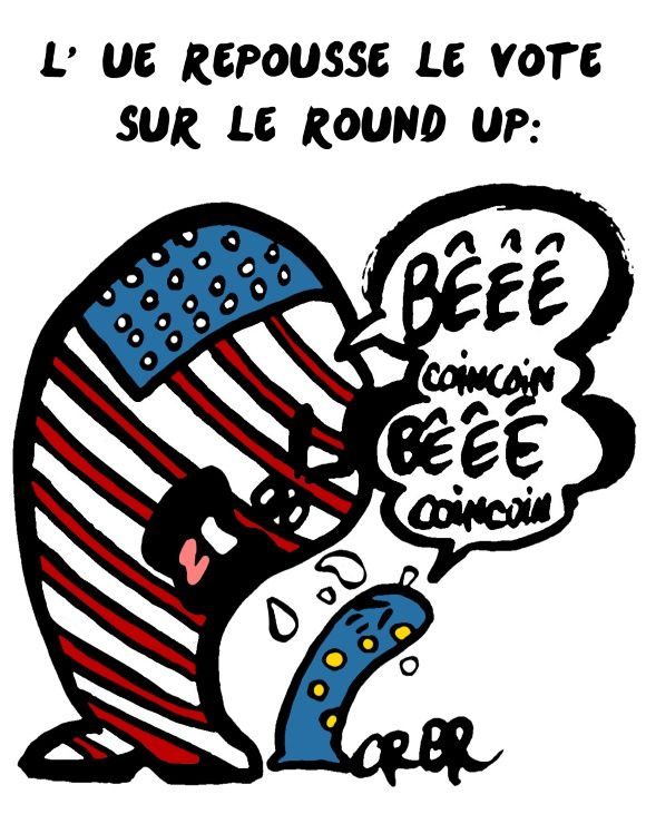 L' UE repousse le vote sur le Round Up: