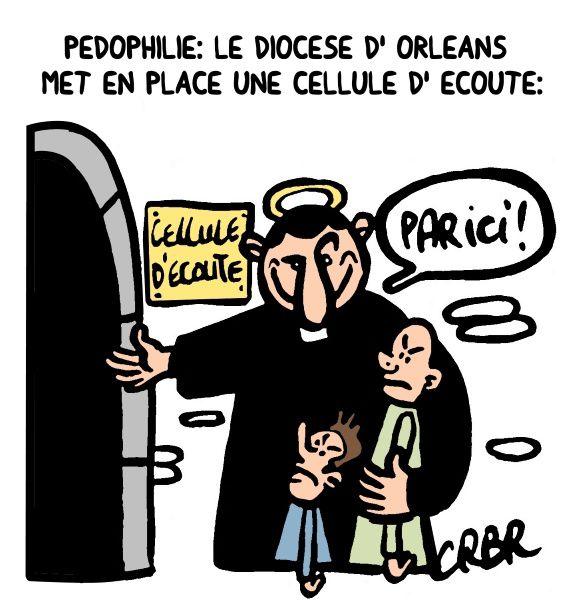 Pédophilie: Le diocèse d' Oléans met en place une cellule d' écoute.