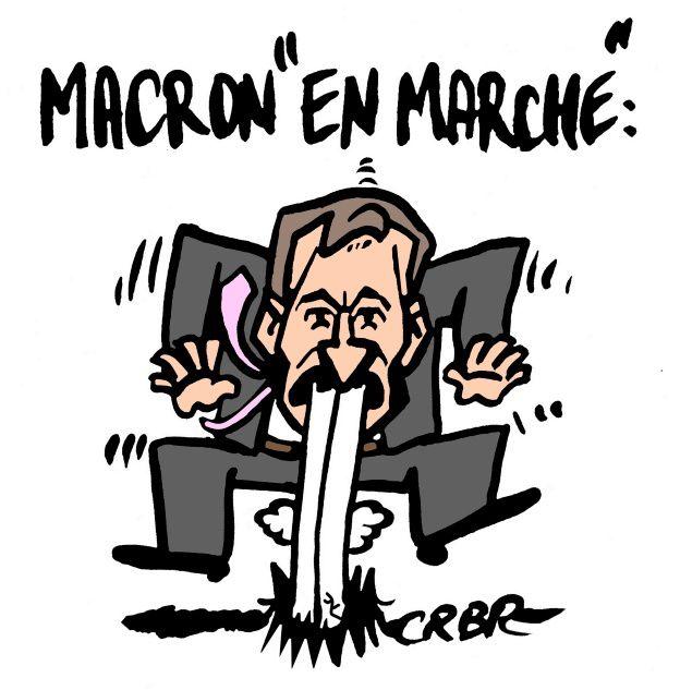 Macron &quot&#x3B;En marche&quot&#x3B;: