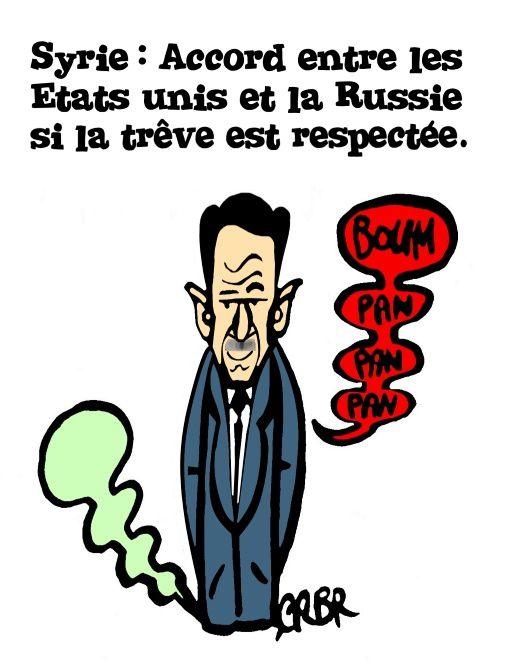 Syrie: Accord entre les Etats Unis et la Russie si la trêve est respectée.