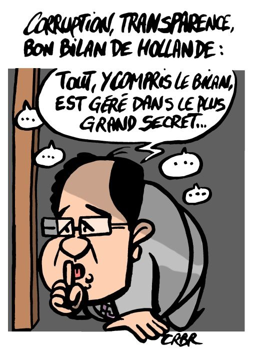 Corruption, transparence, bon bilan de Hollande: