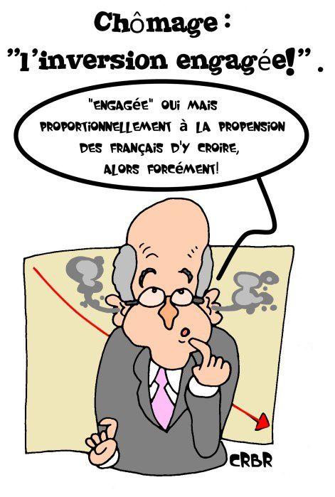 Chômage :&quot&#x3B;inversion engagée!&quot&#x3B;.