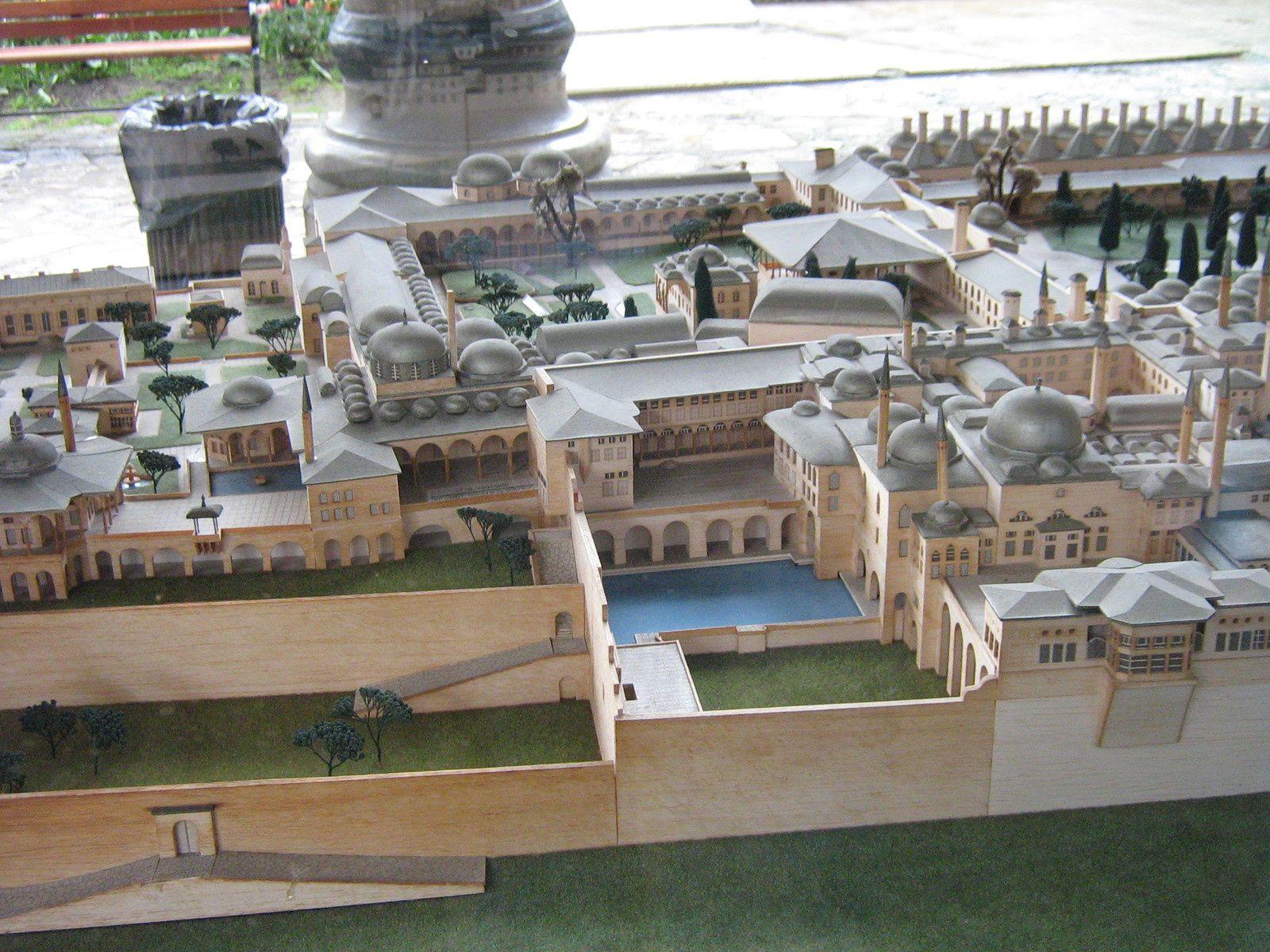 Plan et maquettes de Topkapi