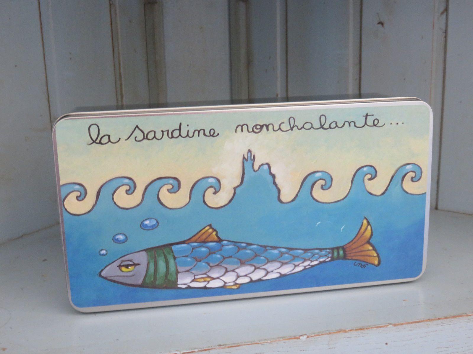 La sardine nonchalante