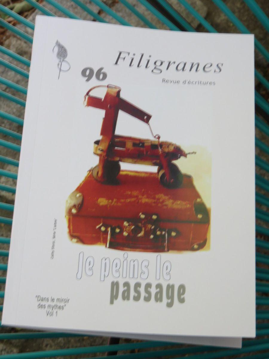 Je peins le  passage (N°96 revue Filigranes)