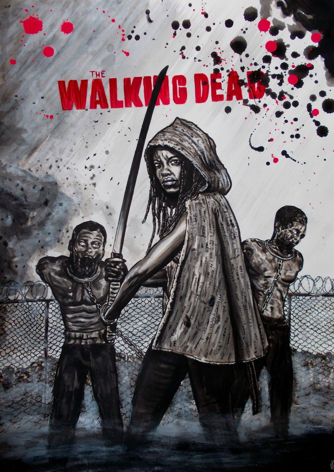 the walking dead Michone