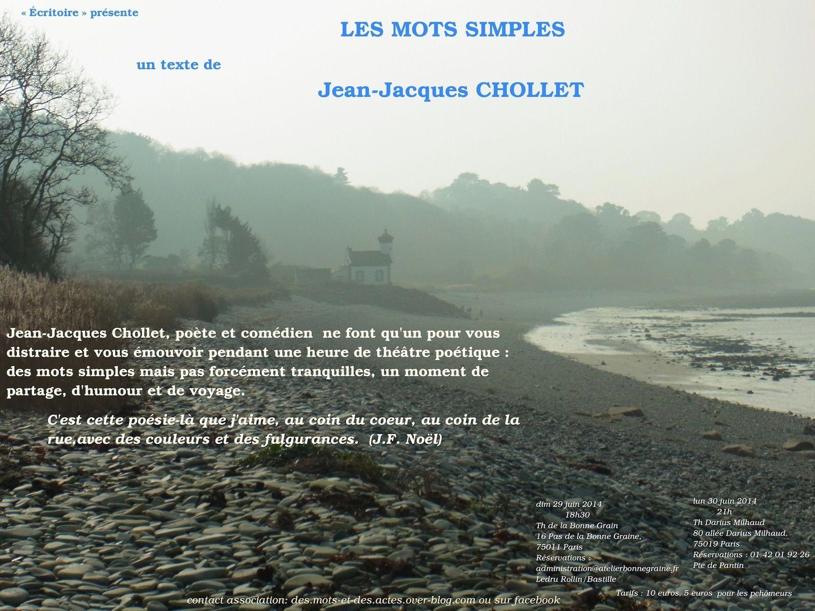 « Les Mots simples »