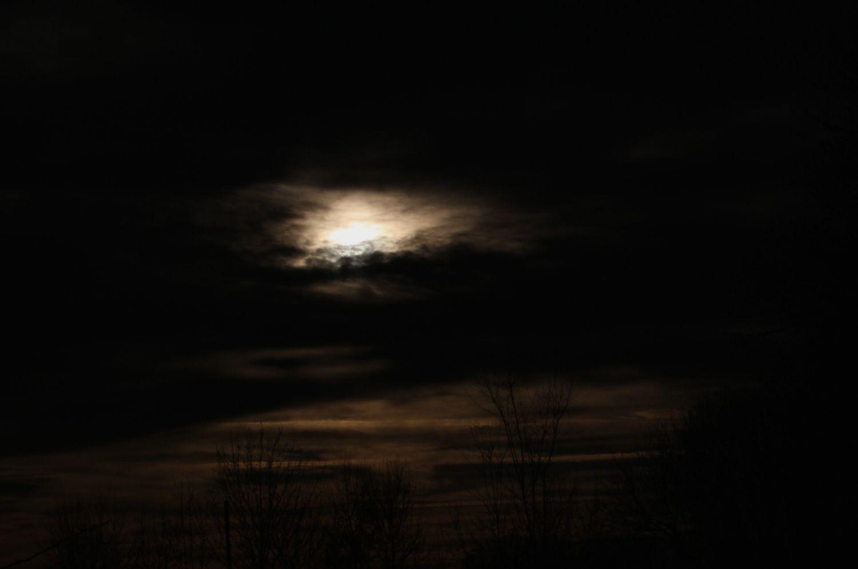 coucher de soleil ce soir 22 décembre !!