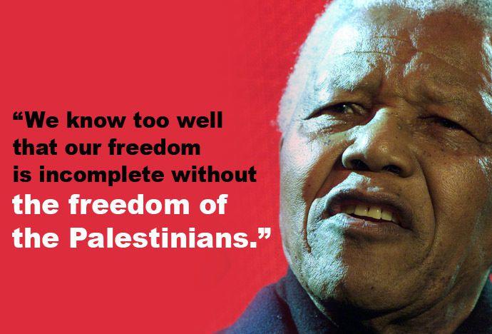 Noël avec Mandela en Palestine…