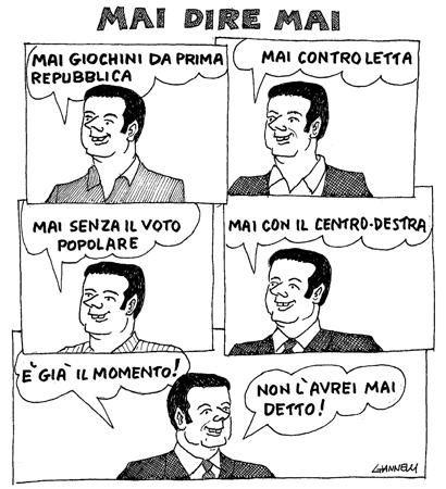 Ora anche Berlusconi tifa Renzi