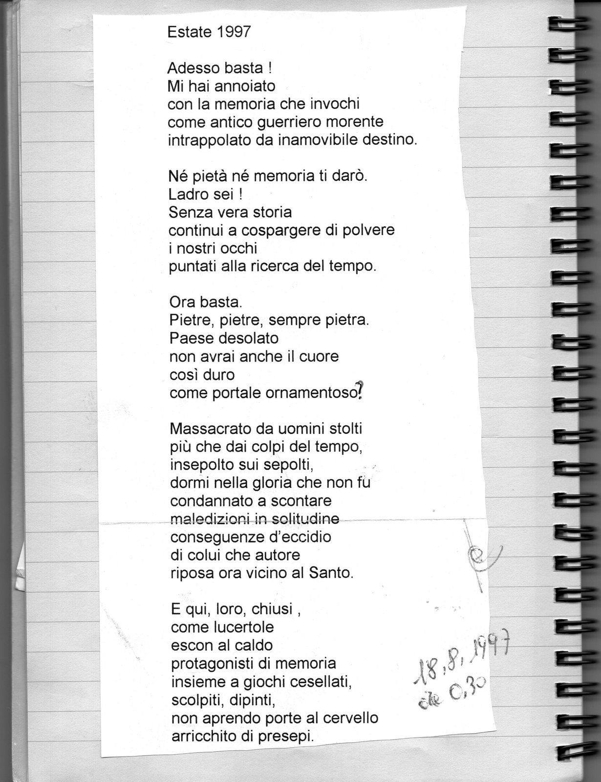 Super poesia - Blog di Carmelo Anastasio TO62