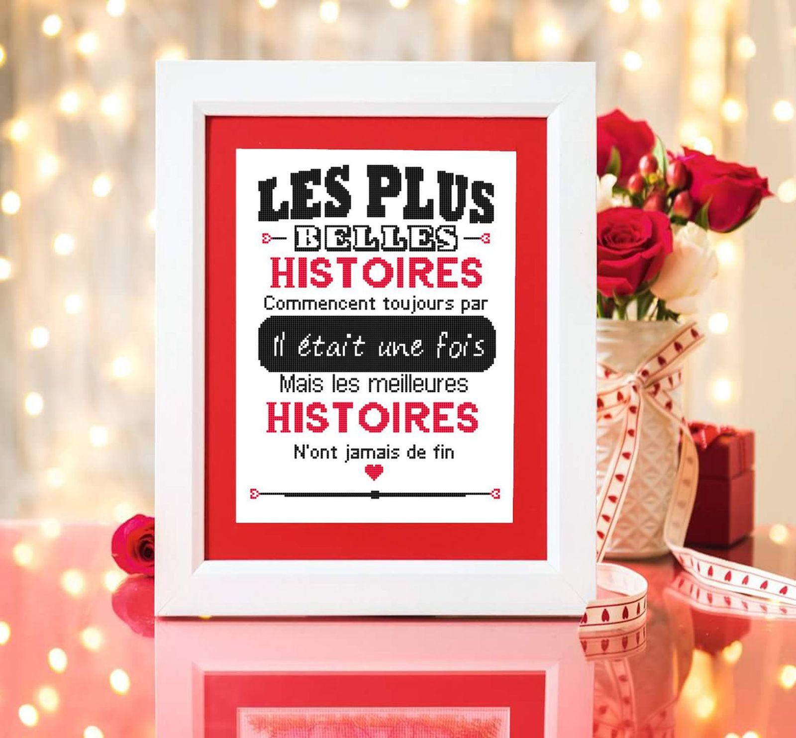 Grille cadeau : les plus belles histoires d'amour