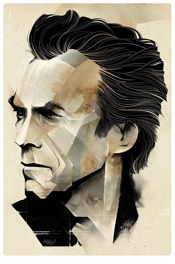 Clint Eastwood by Alexey Kurbatov