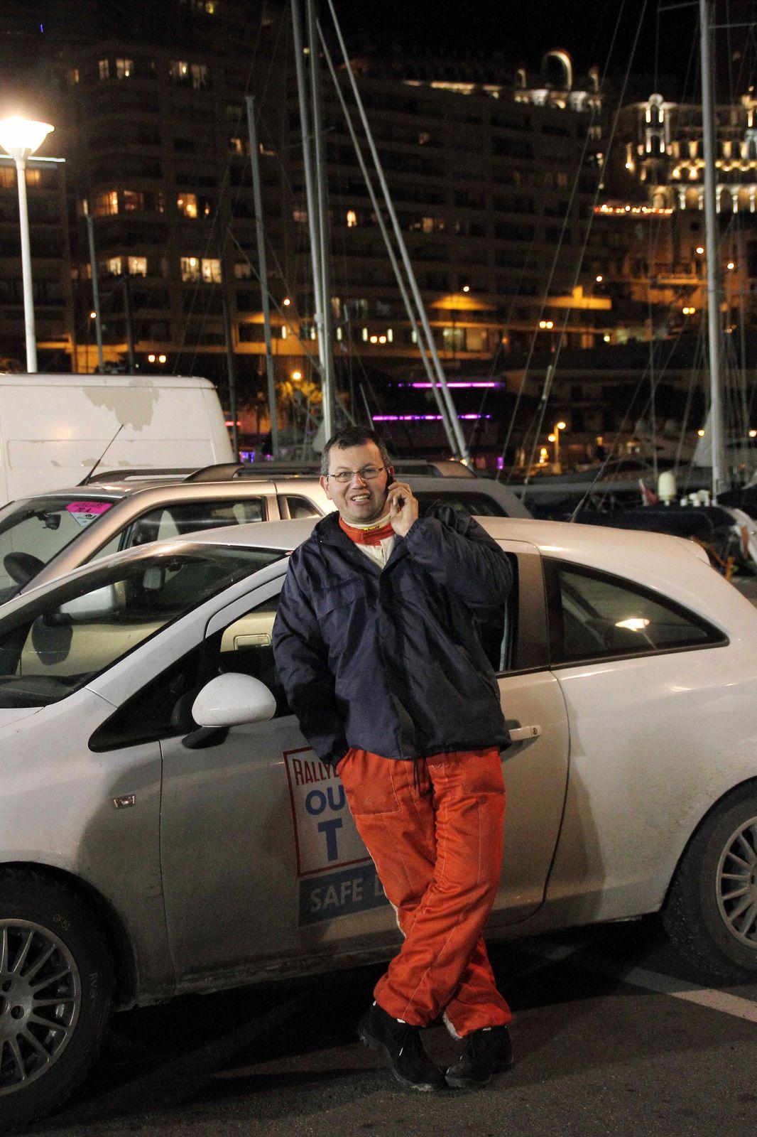 le 18 janvier avant la speciale de Sisteron Thoard et arrivee a Monaco