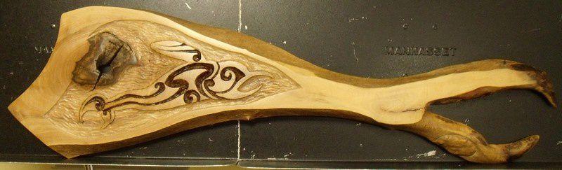 """""""baleine maorie""""  80cm sept 2014"""