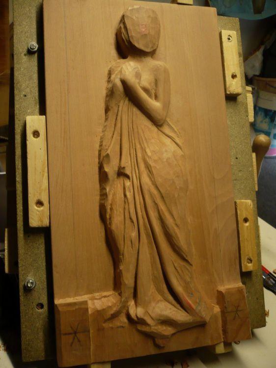 """vous pouvez visionner toutes les créations d'Eric en ouvrant son palmarès sur le côté droit du blog dans la rubrique """"Sculpteur de La Ville aux Dames"""""""