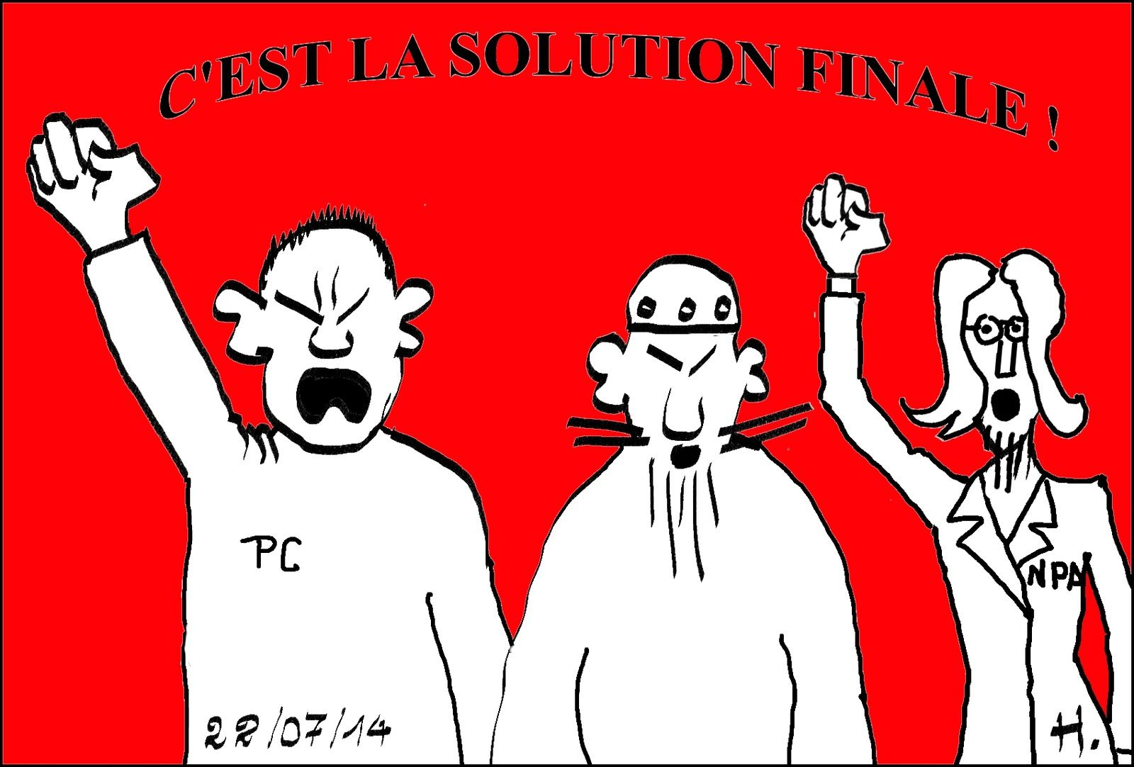 Israel-Gaza, la solution finale