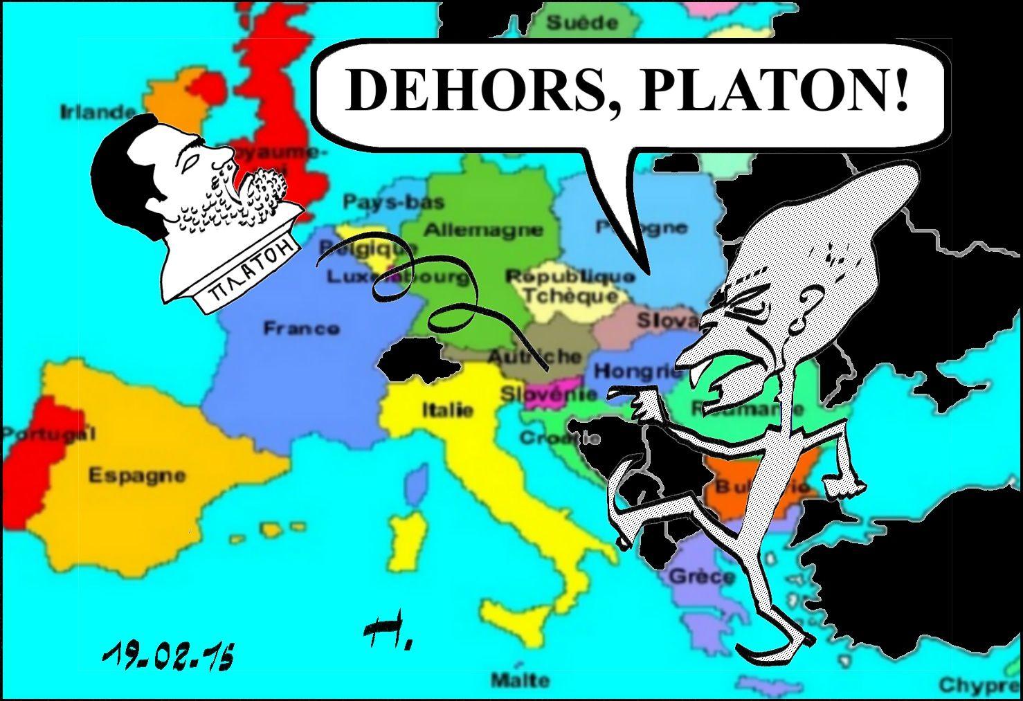 Dehors, Platon