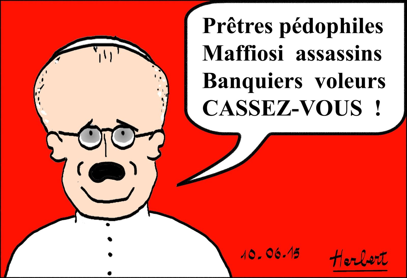 Pape François anti-salopards