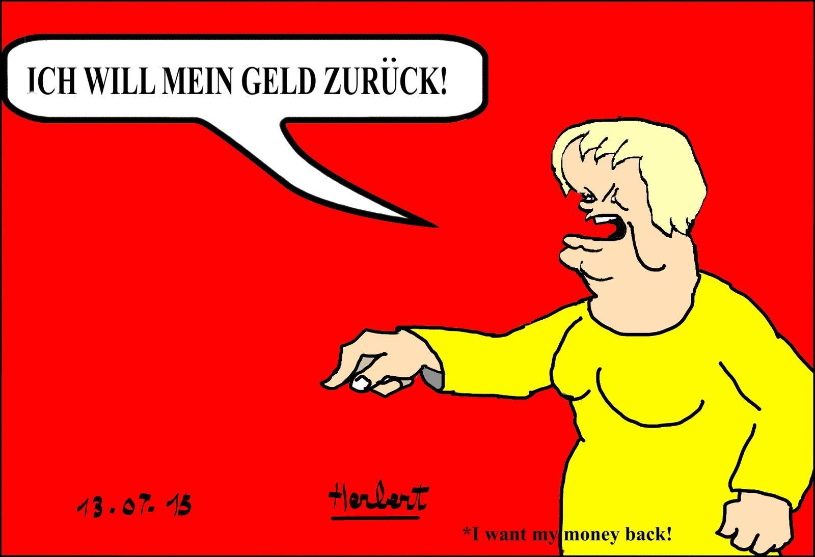 Dette grecque, Merkel Thatcher même combat