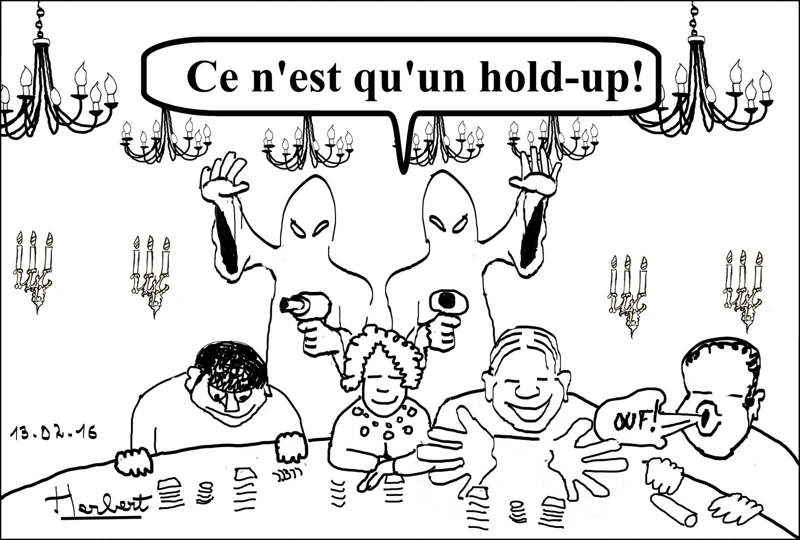 Hold-up à Aix