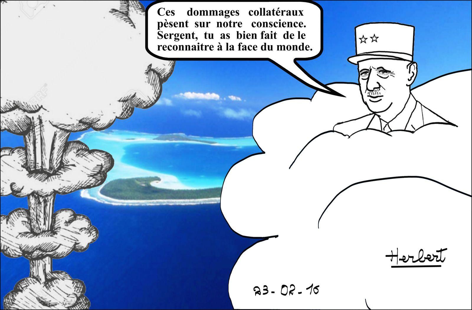 Dommages collatéraux en Polynésie