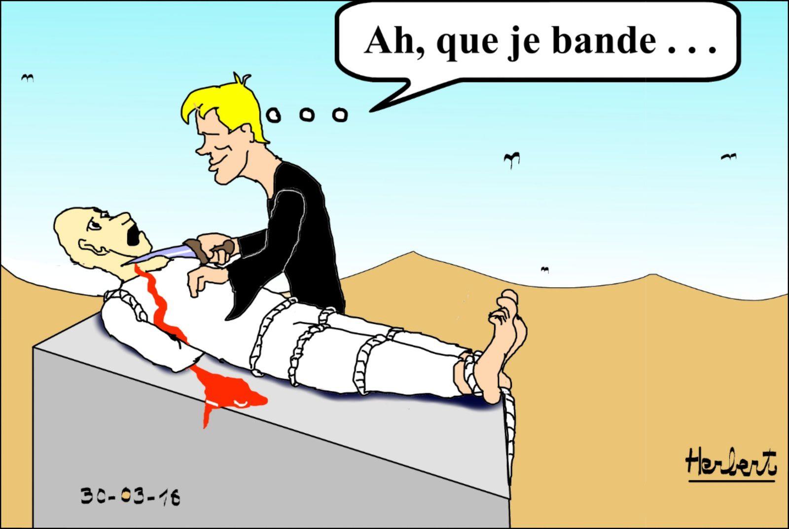 Bourreau djihadiste...français bien de chez nous