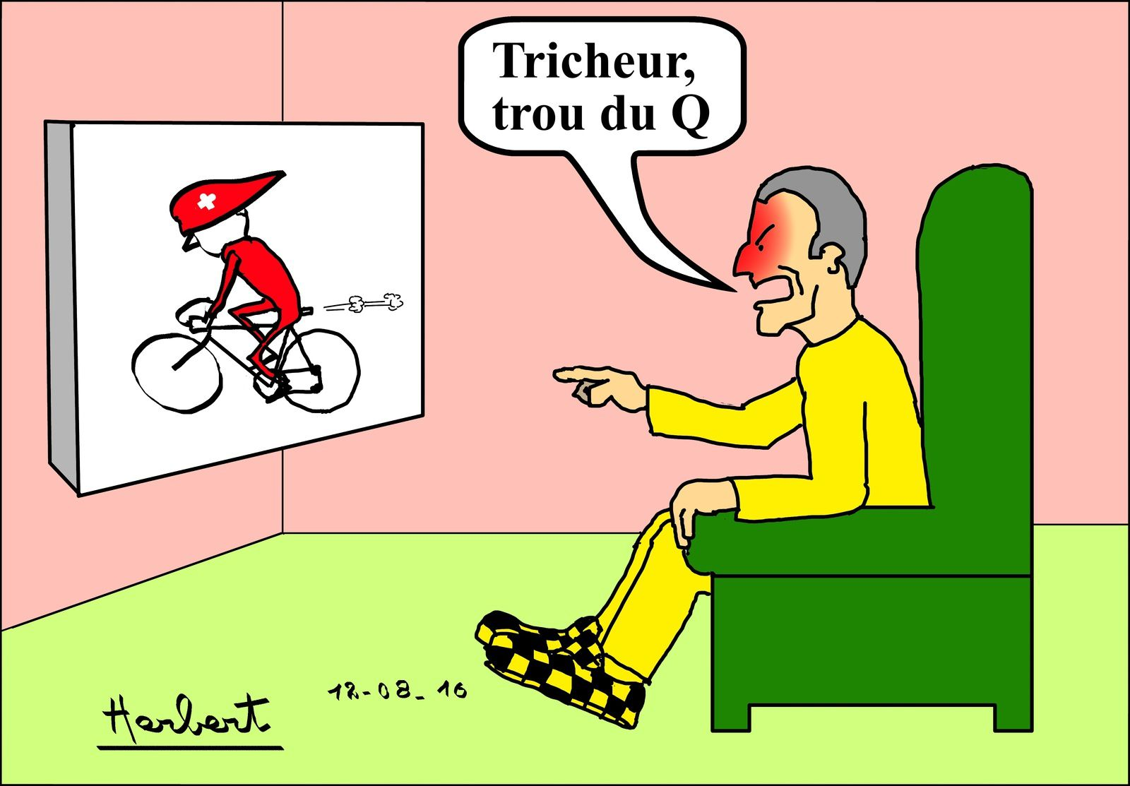 Lance Armstrong Mr Propre