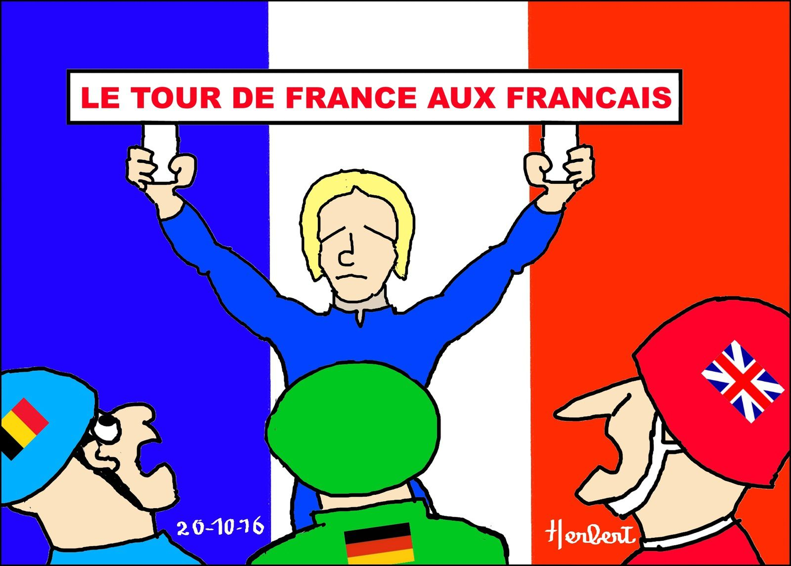 Tour de France et Marine