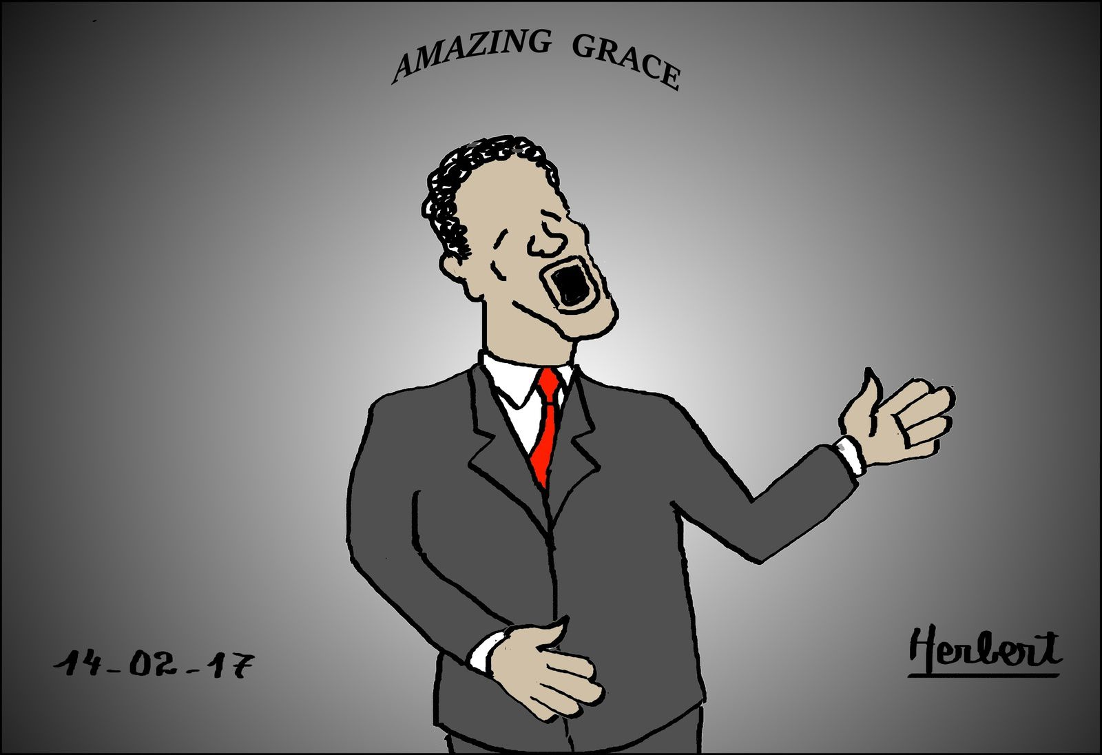 Amazing Grace par Obama et moi
