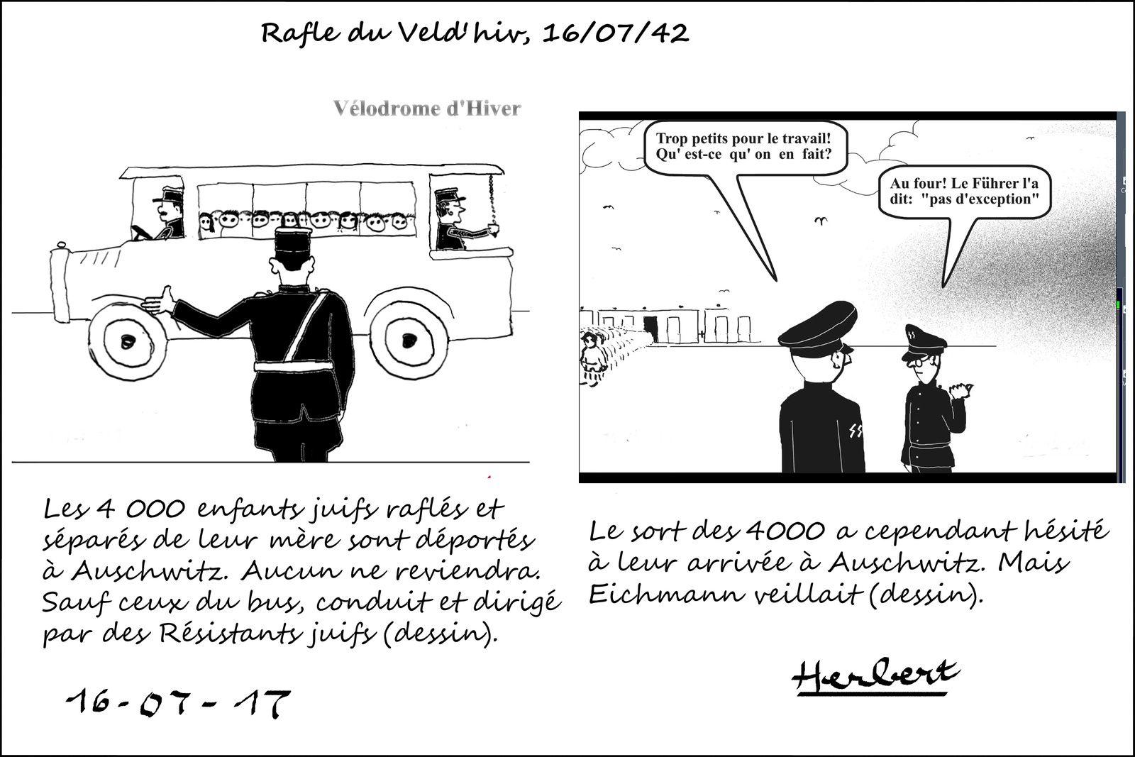 Rafle du Vel d'Hiv, 75 ans après