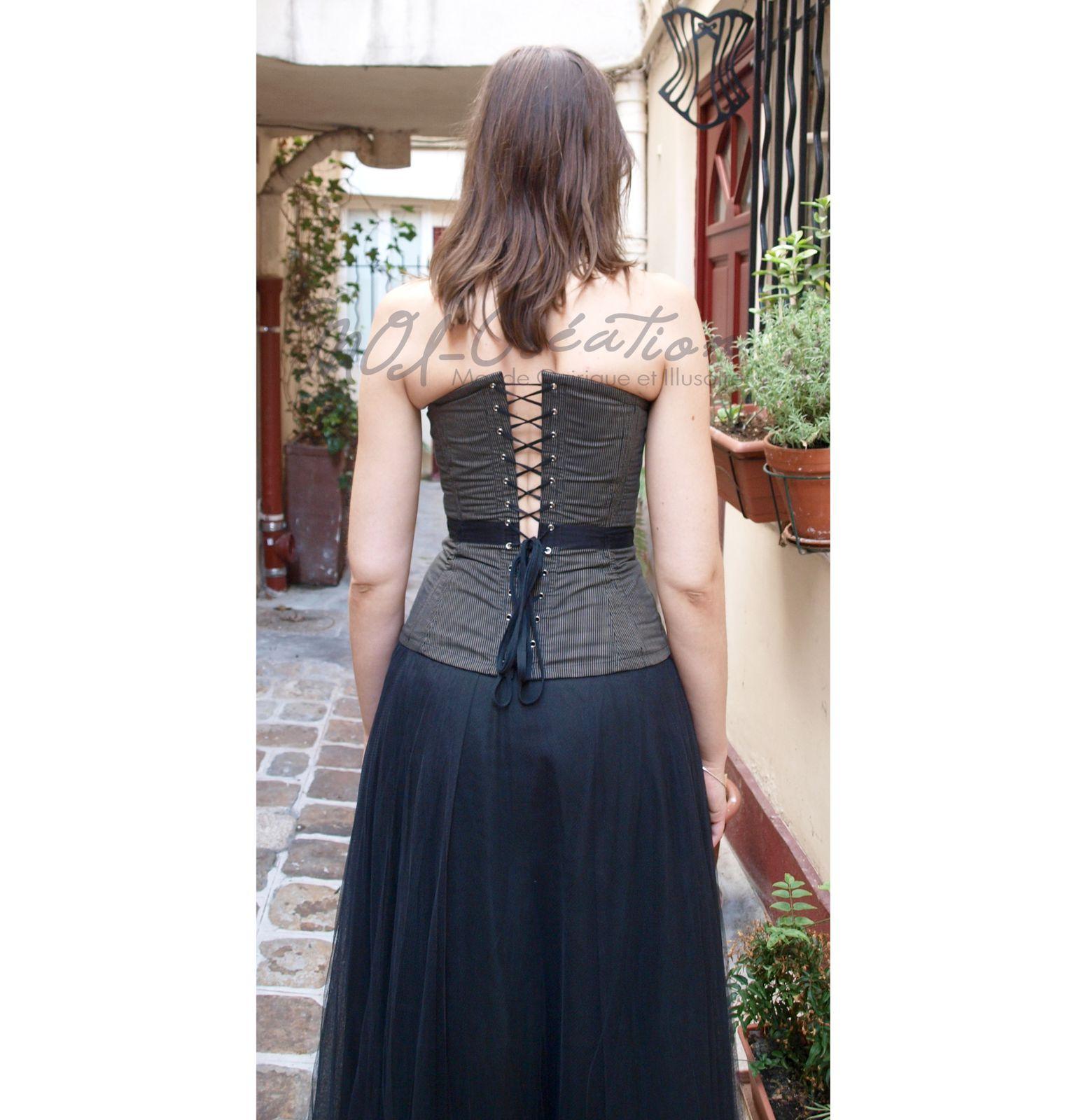 Mon premier corset à l'école du corset