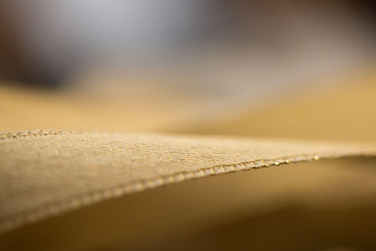 L'atelier de corseterie en gros plan
