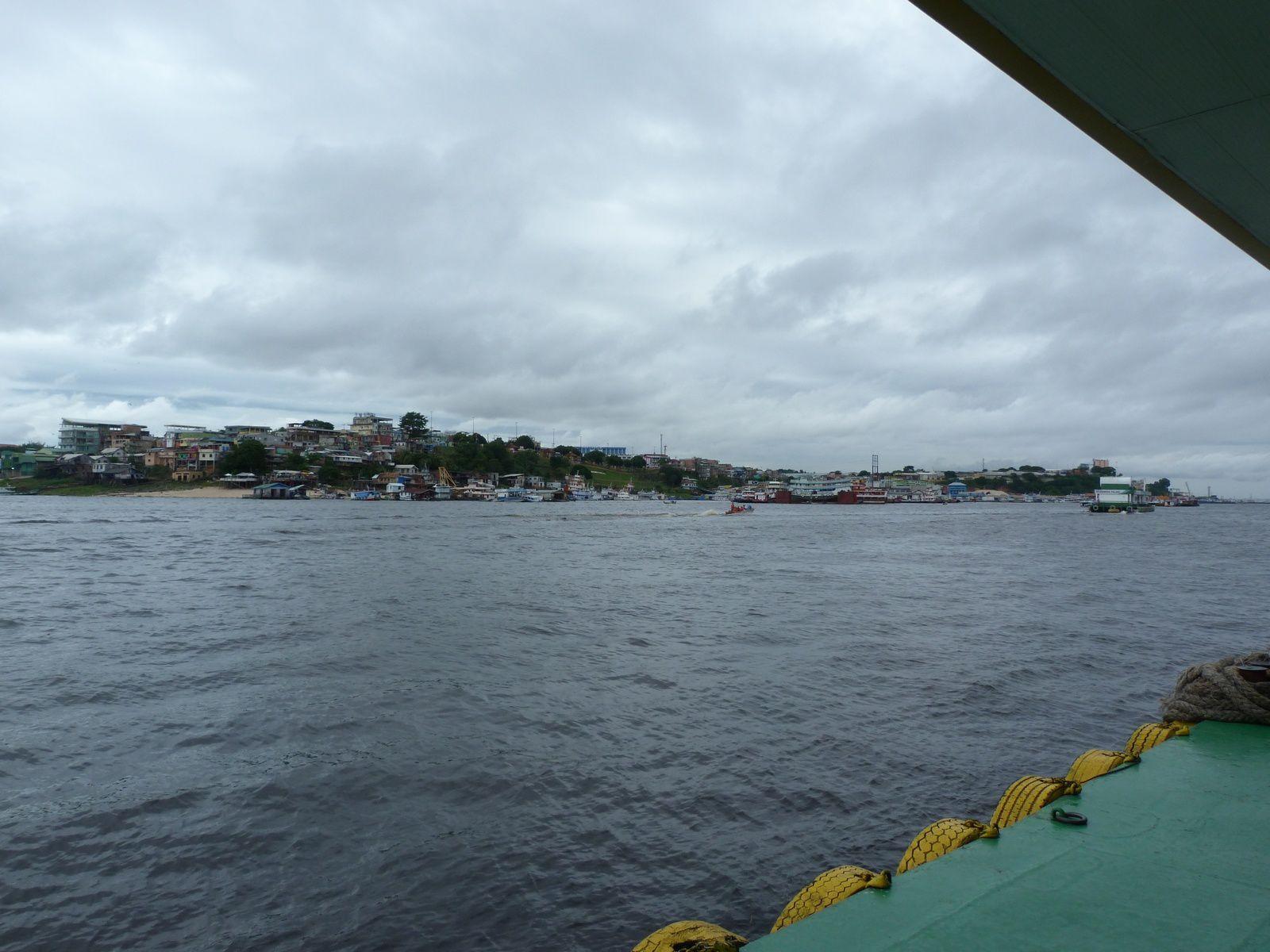 la ville de Manaus au Brésil