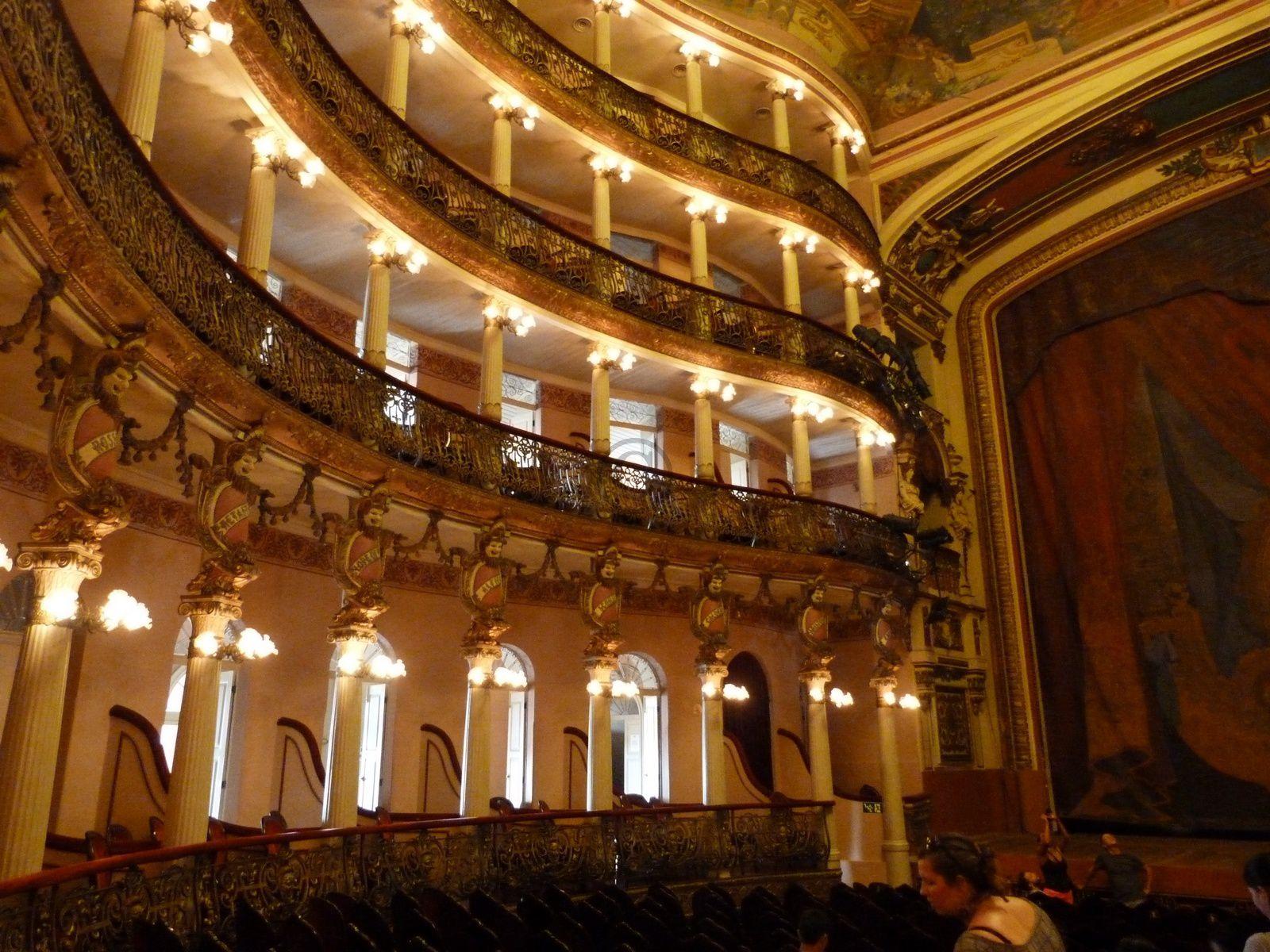 Le Théâtre Amazonas de Manaus