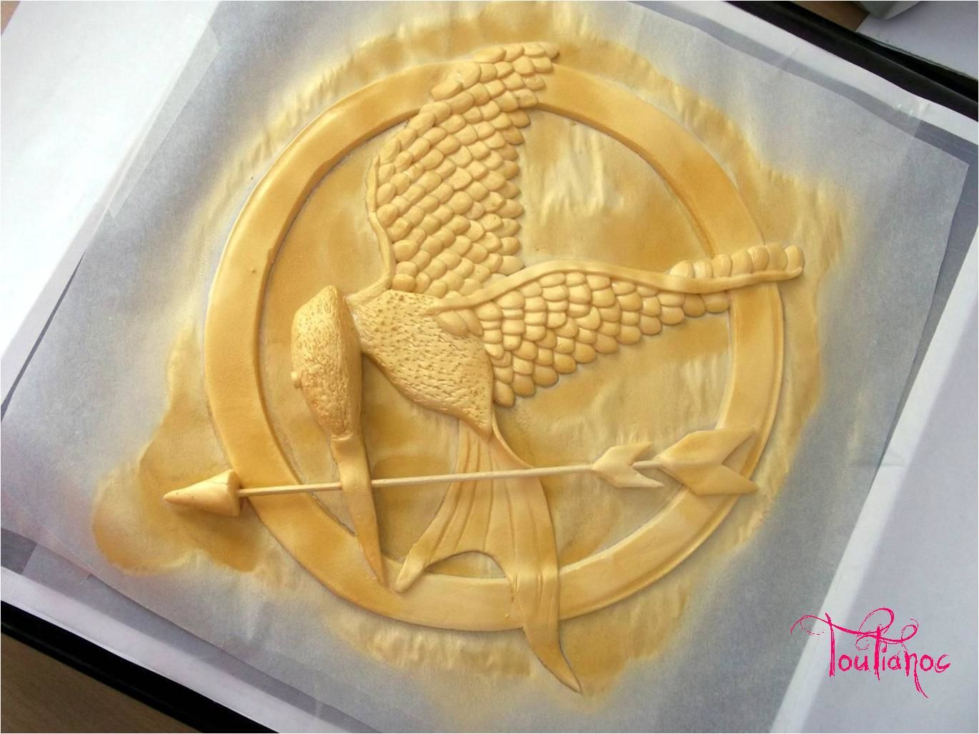 Gâteau HUNGER GAMES