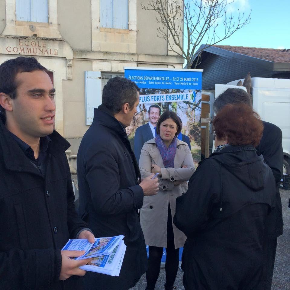 Avec Samuel Hercek, Jacques Mangon et Agnès Laurence-versepuy