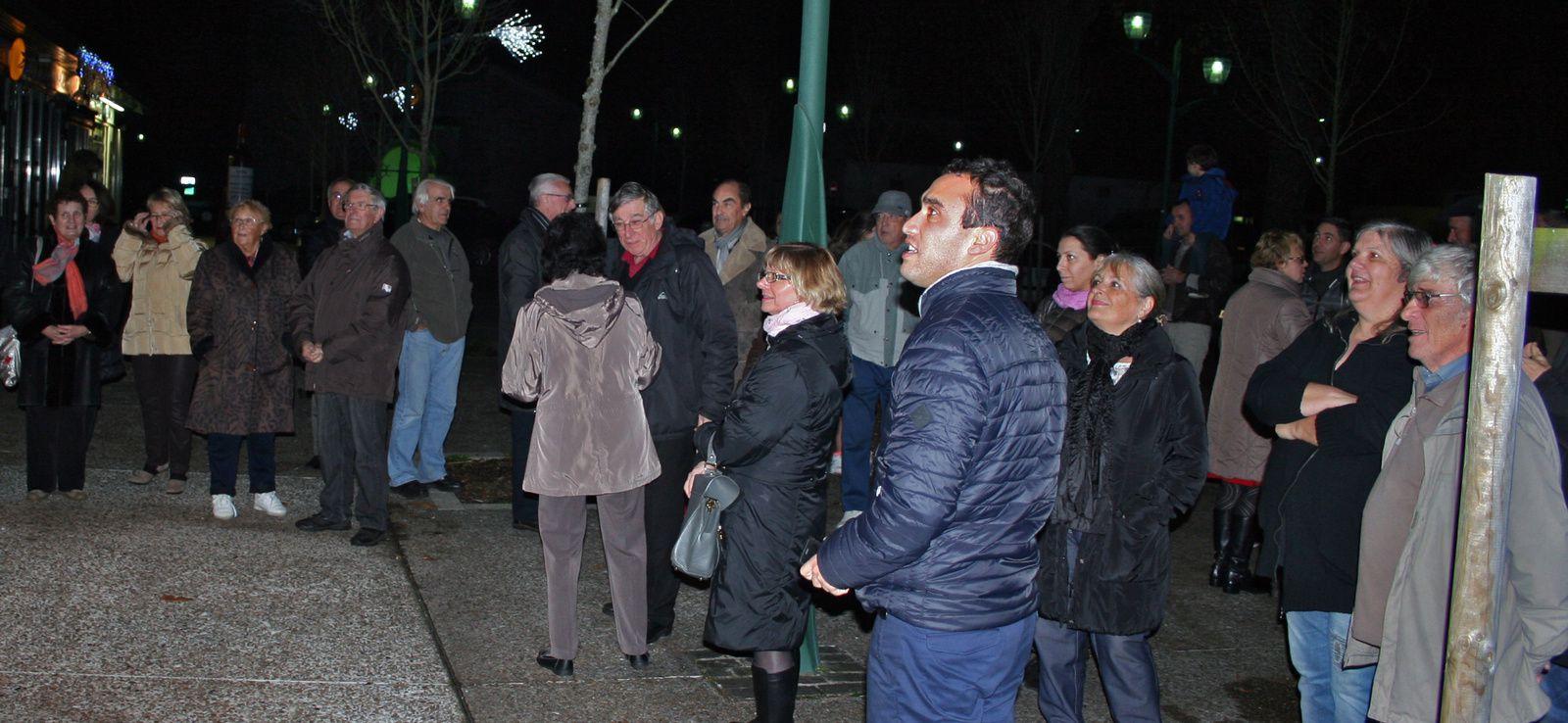 Lancement des illuminations de Noël à St Aubin de Médoc