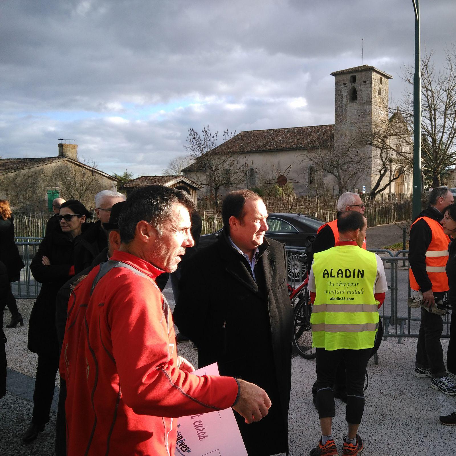 15h48, Hôtel de Ville Saint Aubin de Médoc, km 46