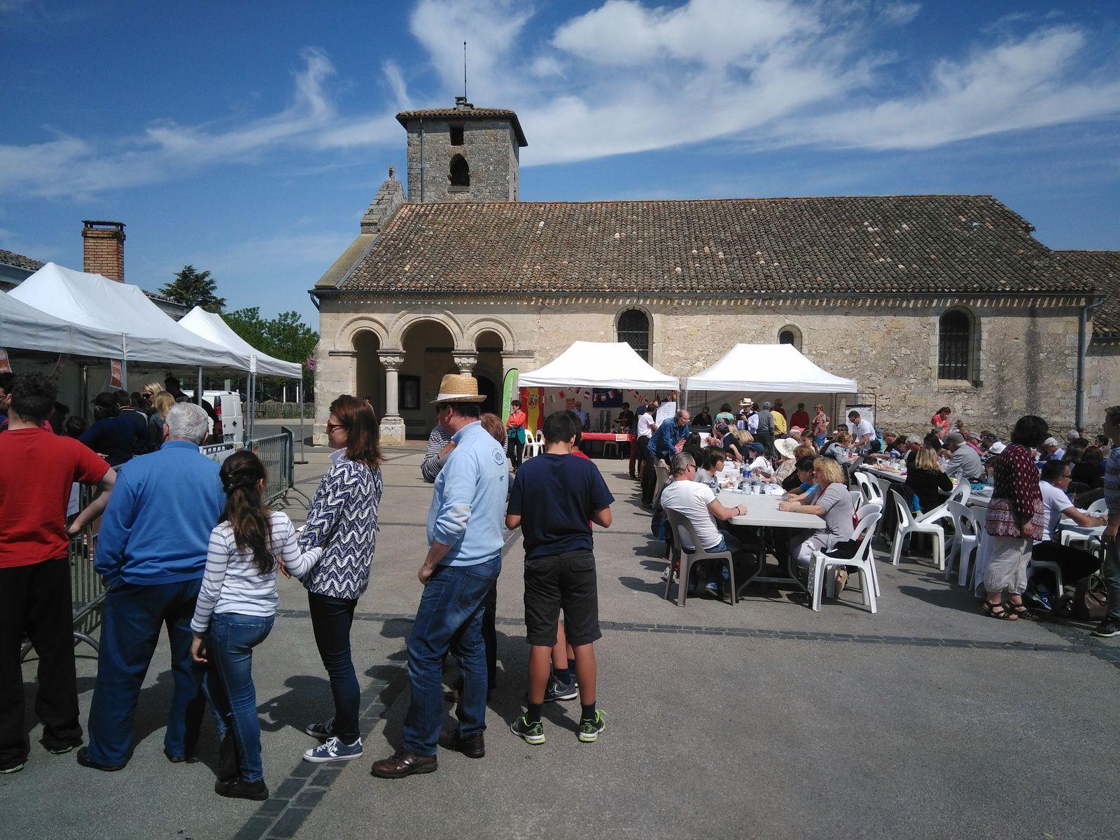 Traditionnelle omelette pascale à St Aubin de Médoc