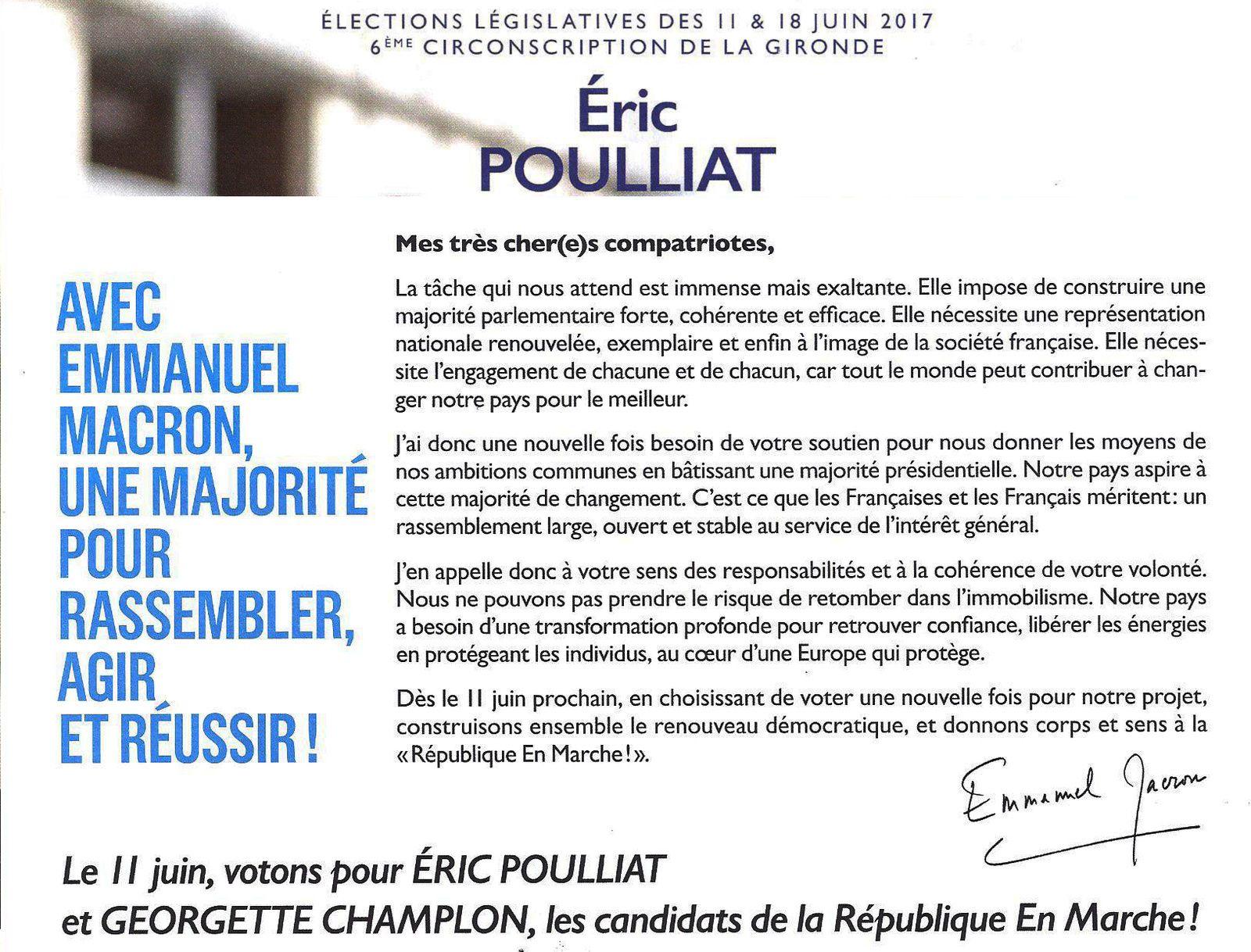 Eric POULLIAT à Saint Aubin de Médoc