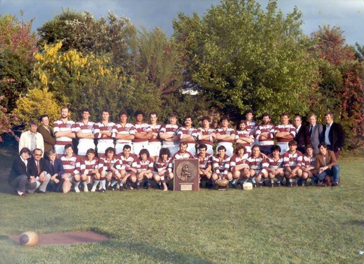Retrouvaille des derniers champions du CSBJ (1984 champion de France groupe B)