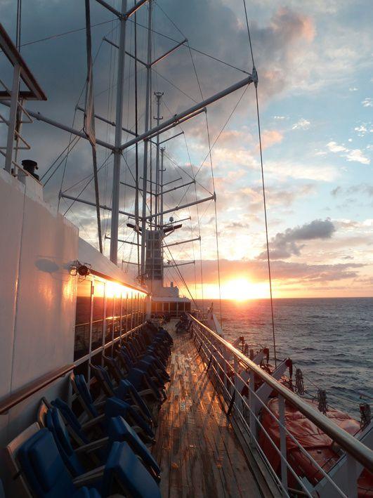 Transatlantique de printemps 2013 sur le voilier Club Med 2