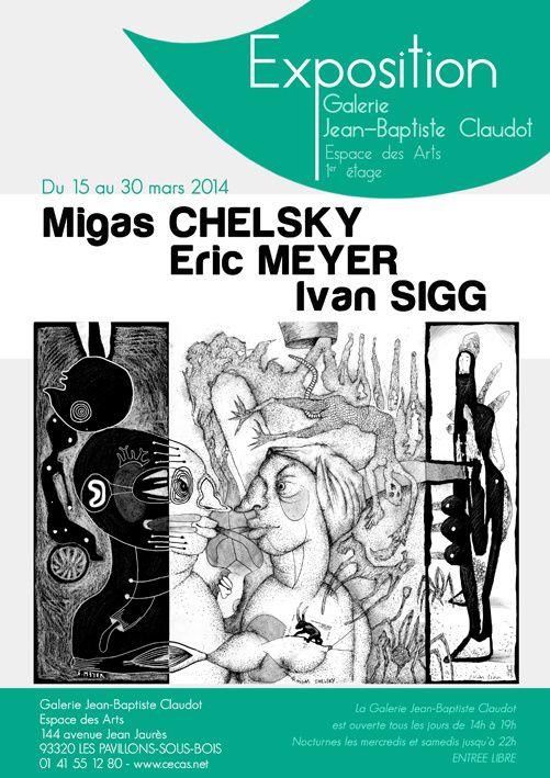 Ivan Sigg à l'espace des arts de Pavillon-sous-bois