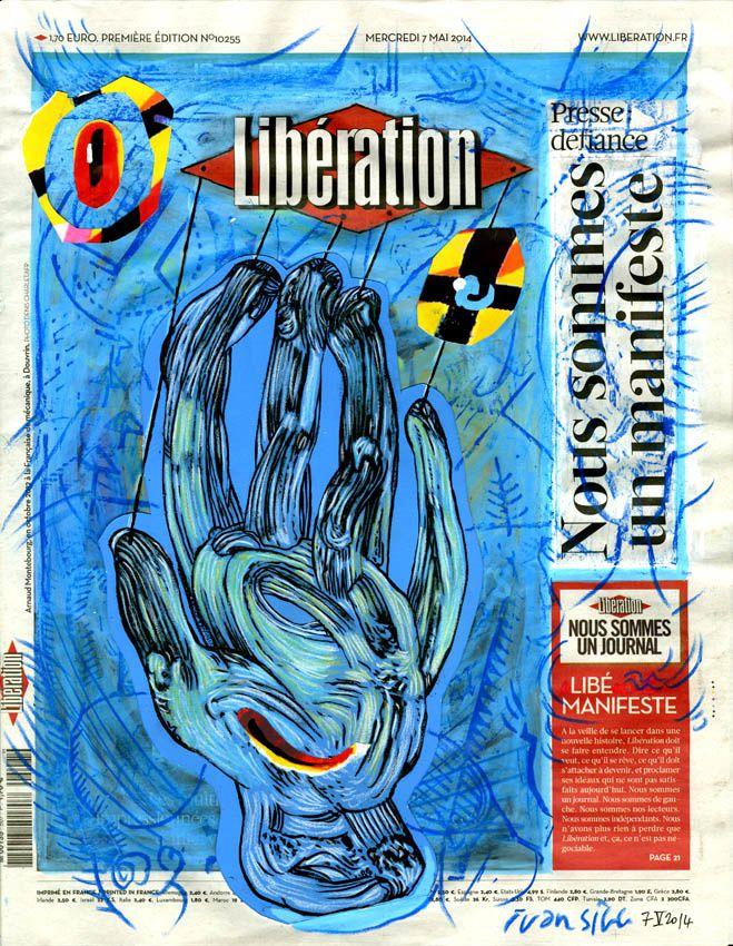 Nous sommes un manifeste dit la Une de Libération avec Ivan Sigg
