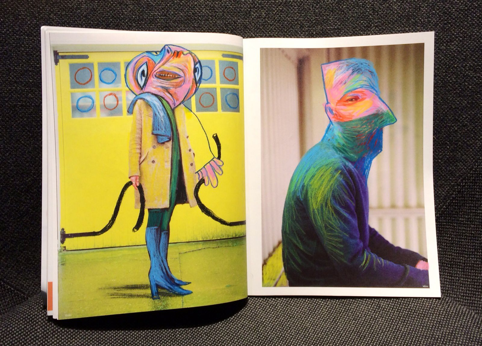 The Cope Quarterly issue #1 : painting remix by Ivan Sigg