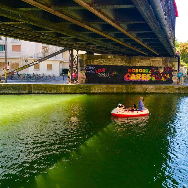 Photorando de Paris à Montreuil en couleur