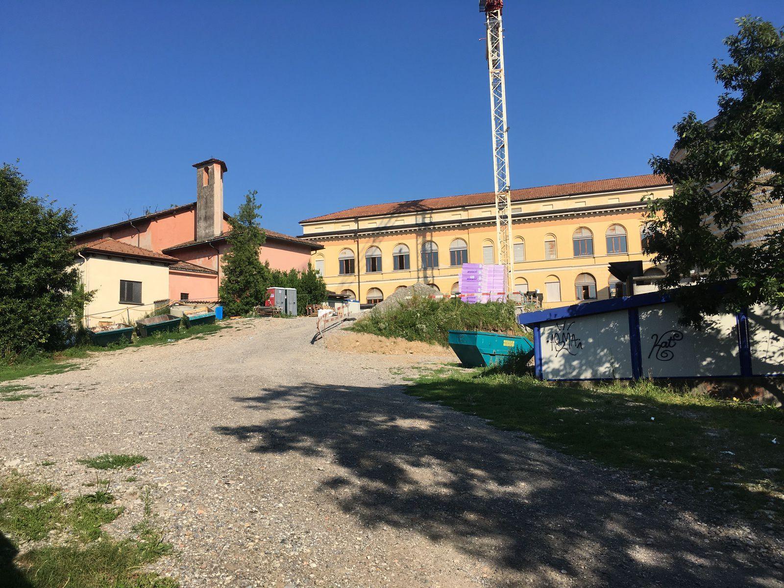 area oggetto della domanda di costruzione senza modinatura durante la pubblicazione (11 e 12 luglio)