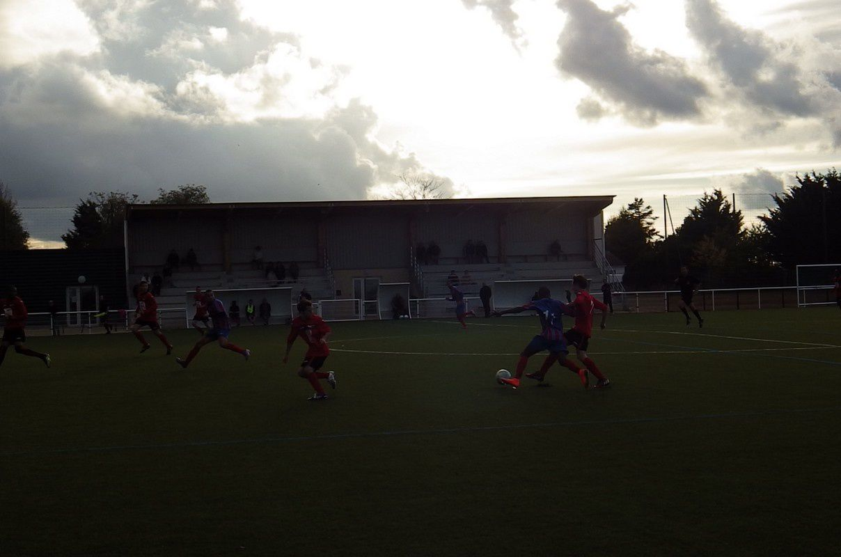 ASPTT Poitiers 2-1 Antoigné