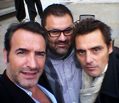 Jean Dujardin ( Le Juge Michel ) - Hervé Bercane ( Centurion Agency ) - Cyril Lecomte ( Marco Da Costa ) Selfie de rigueur &#x3B;)